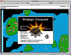 Strategic Conquest on the OSX Intel iMac