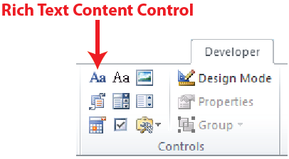 Figure 1. Content control group.