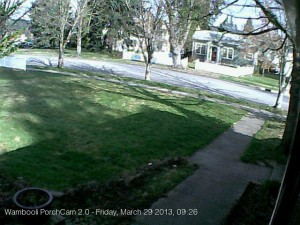 Figure 2. The new PorchCam image.