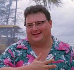 Wayne Knight as Dennis Nedry in Jurassic Park