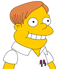 Martin Prince of The Simpsons