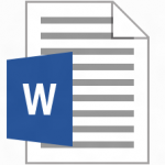 ma01-Word Document Icon