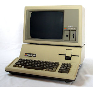The Apple III. I've only seen one of these on display; never had a chance to play with one.