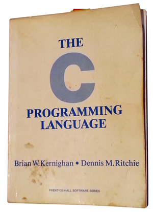 My copy of the original K&R C language reference.