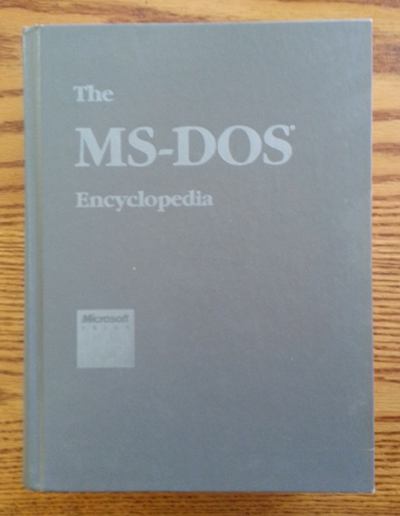 Microsoft Press' ultimate MS-DOS guide.