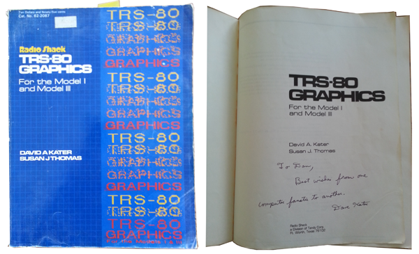 Figure 1. TRS-80 Graphics Programming by David Kater.