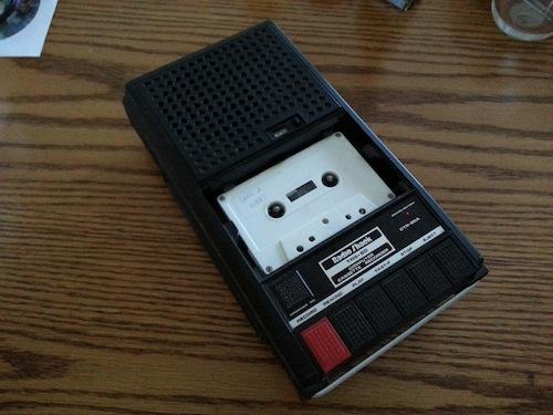 TRS-80 cassette recorder