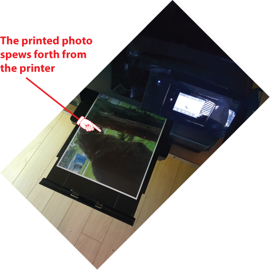 Figure 4. The final results of Android printing efforts.