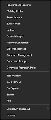 Figure 1. The Super Sekret menu that Microsoft probably doesn't want you to know about.