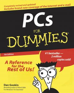Figure 3. The first truly major overhaul of the For Dummies cover.