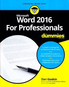 Figure 3. The current cover design for the For Dummies series.