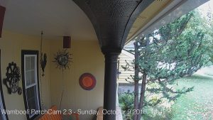 Figure 2. The first official image from PorchCam 2.3.